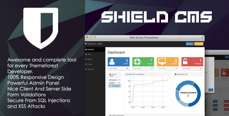 Shield - Content Management System